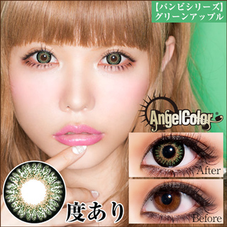 AngelColor BambiSeries 1ヶ月 14.2mm(度あり/1箱1枚入り)
