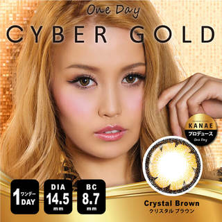 CYBER GOLD by VIVIAN(サイバーゴールド)1day 14.5mm(1箱10枚入り)