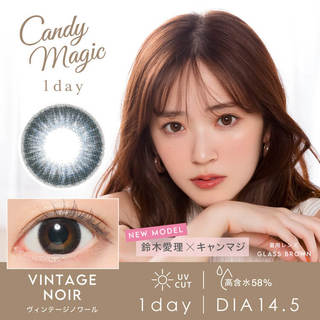 candymagic 1day AQUA 1day (1箱10枚入り)