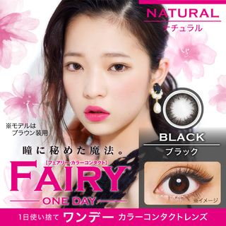 FAIRY NATURAL 1day  14.2mm(1箱10枚入り)