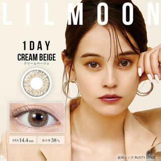 LILMOON(リルムーン)1day 14.4mm(1箱10枚入り)